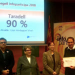 La web de l'Ajuntament de Taradell rep, un any més, el Segell Infoparticipa 2018 per la seva transparència
