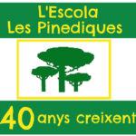 Audiovisual històric i festa de l'escola Les Pinediques de Taradell per celebrar els 40 anys