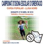 Taradell acollirà el 27 d'abril el campionat d'Osona escolar d'orientació