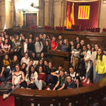 26 alumnes francesos del municipi de la Réole fan estada a Taradell aquests dies