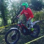 Jordi Povedano guanya en categoria sub-16 la primera prova del COTA de trial 2019