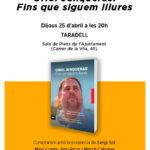 Dijous ERC presenta a Taradell el llibre 'Oriol Junqueras, fins que siguem lliures'