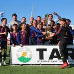 El FC Barcelona s'endú el títol a la 4a edició del Torneig aleví de futbol TAR International Tournament