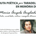 Ruta poètica per Taradell en memòria de Maria Àngels Anglada