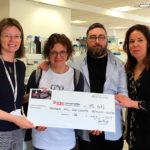 El Xocolater de Taradell entrega més de 15.600 euros a la lluita contra el càncer infantil