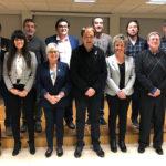 Comiat dels regidors a l'Ajuntament de Taradell en l'últim ple del mandat 2015-2019