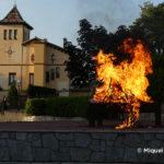 Taradell rep un any més la flama del Canigó