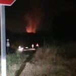 Un vehicle s'incendia i provoca un petit foc al bosc del Pujoló de Taradell