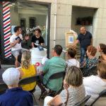 Aniol Florensa presenta a Taradell el seu últim llibre 'L'últim esmolet'