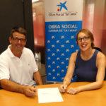 Els Tonis de Taradell reben 4.000 euros de l'Obra social de La Caixa per poder realitzar projectes amb vessant social