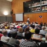 """Elisenda Paluzie, presidenta de l'ANC, diu a Taradell: """"La independència és possible"""""""