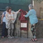 Taradell inaugura la plaça Muriel Casals