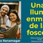 Cloenda del projecte d'agermanament amb el Nepal de la Biblioteca de Taradell amb una xerrada del cantant de Txarango