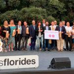 Taradell rep dues Flors d'Honor durant la gala Viles Florides 2019