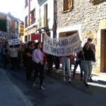 Els alumnes de l'INS Taradell es manifesten contra la sentència de l'1-O