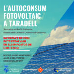 Taradell acollirà dijous al vespre una conferència sobre l'autoconsum fotovoltaic