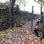 El propietari del Tint comença a tancar l'accés al camí que porta a la font de Sant Jaume