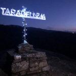 Aquest dissabte arriba la ja tradició d'il·luminar la creu del Castell de Taradell