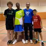 Jordi Forcada és tercer a la 1a fase de l'Individual TTI de tennis taula