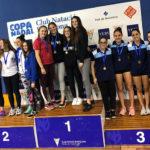Mireia Montaña guanya l'or amb el CN Vic-ETB a la prova de relleus 4×100 estils del Campionat de Catalunya júnior de natació