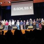 Taradell tanca la campanya per la Marató de TV3 2019 amb 8.600 euros recollits