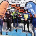 Arnau Lledó segueix intractable i guanya a Almenar la segona prova del Campionat de Catalunya de motocròs 2020