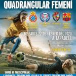 Taradell acull aquest dissabte la 2a edició del quadrangular de futbol femení amb el Barça i l'Espanyol