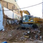 Can Serdà ja està quasi enderrocat i en un futur acollirà un vial amb un tram cobert amb habitatges a sobre