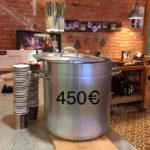 450 euros recollits a Taradellamb la xocolatada solidària per investigar el càncer infantil