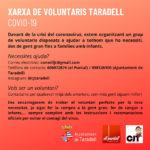 Neix una xarxa de voluntaris a Taradell per ajudar a les persones vulnerables arran del Coronavirus
