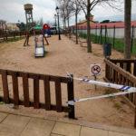 L'Ajuntament de Taradell precinta parcs infantils per evitar el contacte entre infants i prevenir el Coronavirus