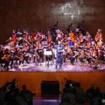 Taradell va acollir dissabte una trobada de corda fregada d'escoles de música d'Osona, Llucanès i Ripollès