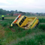 Mor el conductor d'un vehicle en un accident al camí de la Vallmitjana de Taradell