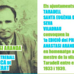 L'Ajuntament de Taradell convoca el 1r Premi Anastasi Aranda per a treballs de Batxillerat que substitueix el Premi Ajuntament de Taradell