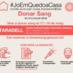 Taradell acollirà els dies 17 i 18 de maig una doble jornada per donar sang