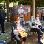 Una trentena de persones celebren la 74a edició de l'Aplec de la Sardana de Taradell