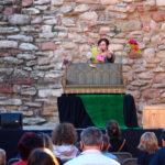 Taradell es reactiva culturalment amb un centenar de persones a les titelles del cicle 'Surt del niu i viu l'estiu'