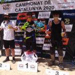 Arnau Lledó guanya a Salomó en la represa del Campionat de Catalunya de motocròs