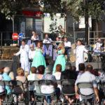 La calor apreta en una jornada de la Festa Major de Taradell 2020 amb l'Orquestra Maravella de protagonista