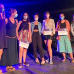 Ariadna Lozano i  Bruna Arumí guanyen el 3r Concurs d'art jove de Taradell