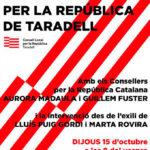 Ajornat: Aquest dijous es presenta el Consell per la República de Taradell