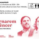 Taradell acull aquest divendres la presentació del llibre d'Oriol Junqueras i Marta Rovira
