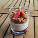 El RecepTARi: Vas de crema de mascarpone amb figues i nous
