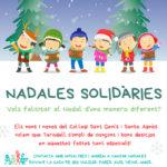 El Col·legi Sant Genís i Santa Agnès s'ofereix a cantar 'nadales solidàries' perquè ningú se senti sol