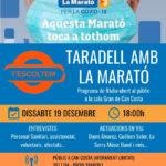 Ràdio Taradell organitza dissabte un acte per a La  Marató de TV3