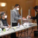 18h a Taradell a les eleccions catalanes 2021: 55% de participació