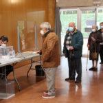 A la una del migdia la participació a Taradell per les eleccions catalanes 2021 se situa en quasi el 30%