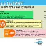 Arriben els TasTAR, tres propostes en forma de taller durant aquest març