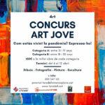Es convoca la 4a edició del Concurs d'Art Jove de Taradell amb la pandèmia com a tema