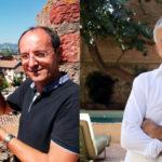 Antoni Pladevall i Albert Om presenten els seus llibres a Taradell
